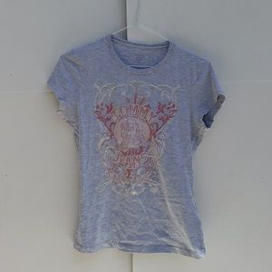 Tommy Jean's Grey Graphic Tee